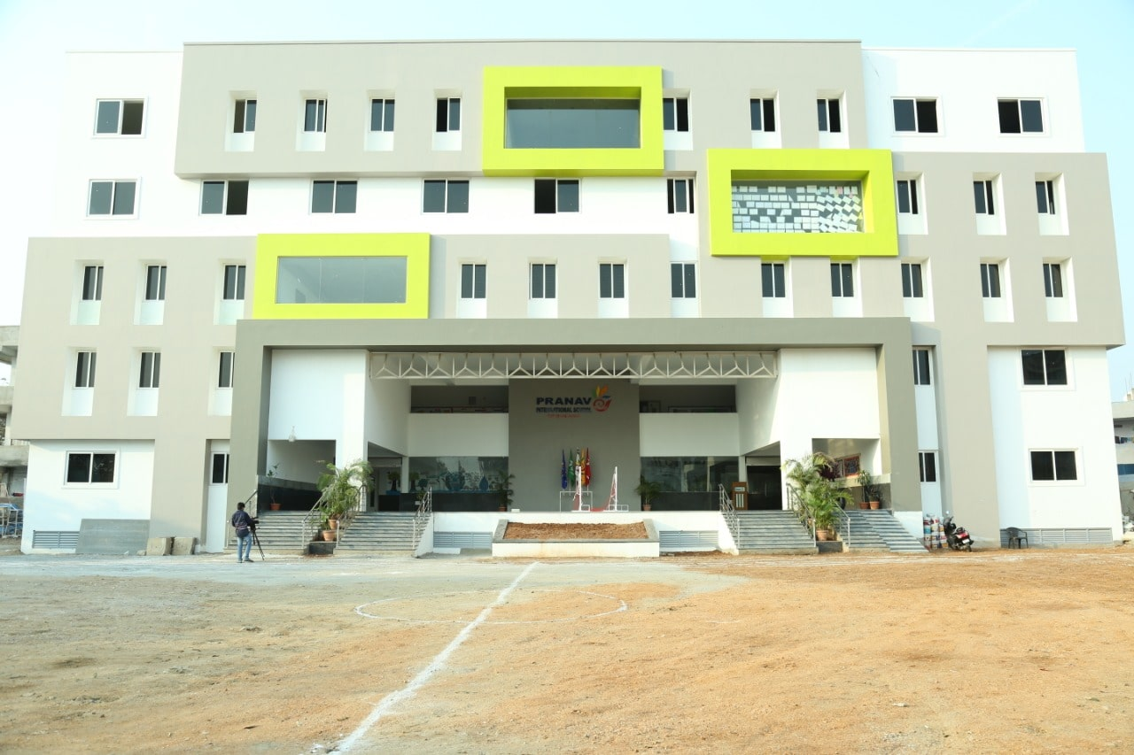 pranav international school school building
